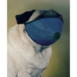 Dog Muzzle for Short Nose Flat Faced Dogs Pug Muzzle - One size Fits All
