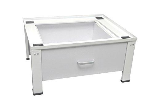 #Waschmaschinen/Trockner Untergestell mit Schublade unterbau Podest#