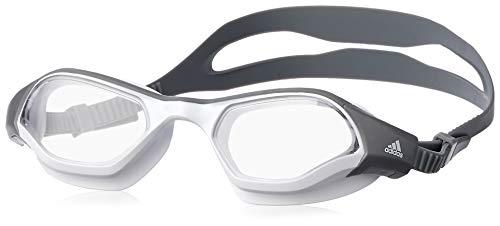 adidas Erwachsene Persistar 180 Schwimmbrille, White/Grey, M