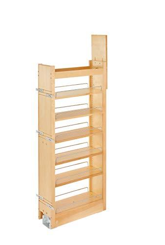 Rev-A-Shelf 448-tp43-8-1Ausziehbares Holz Schrank Pantry, 8von 109,2cm natürlichen - Küche Pull-out-regale