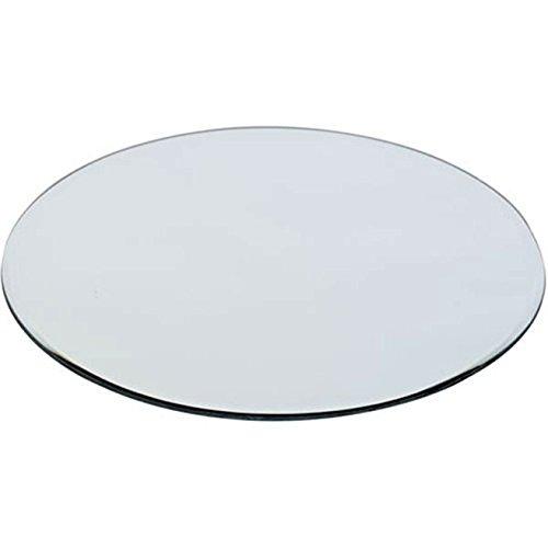 WGV 12Pack-25,4cm Floral/Craft Spiegel rund mit geschliffenen Kanten-dick (12 Runden Tisch Spiegel)