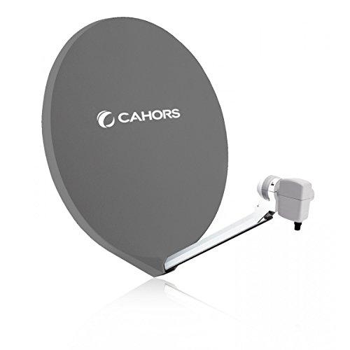 Cahors Parabole satellite FIBRE 80 CM Antenne SMC...