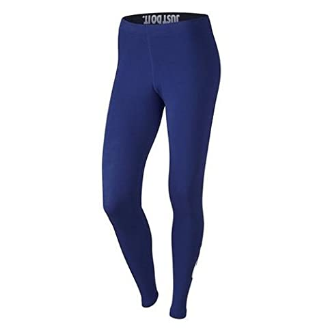 Nike Damen Leggings Leg-A-See, tiefes königsblau/weiß, S, 806927