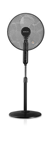 Sogo: SS-21210 Ventilador de Pie, oscilante con 3 velocidades, 40cm diámetro, 45W,...