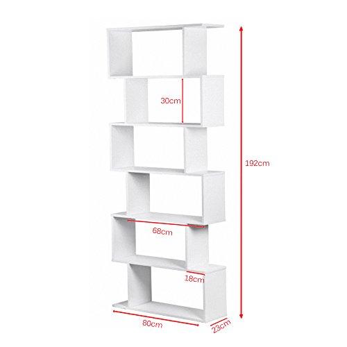 amantine tag re style chelle biblioth que rangement livre fleur 6 tag res pour salle de bain. Black Bedroom Furniture Sets. Home Design Ideas