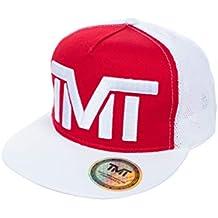 TMT - Gorra de béisbol - para Hombre Rojo Rojo Talla única 7f693652fa9