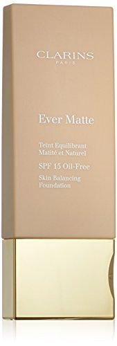 Clarins Ever Matte Skin Balancing Oil Free Foundation SPF 15 - # 108 Sand 30ml/1.1oz - Make-up