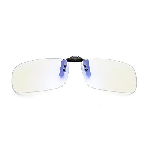 611b189520 DAUCO Gafas de clip para bloquear la luz azul/Gafas Gaming/Anti fatiga,