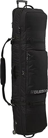 Burton Adult Wheelie Locker Snowboard Bag with Wheels Black true black Size:32 x 29 x 160 cm, 148.480