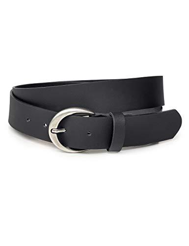 Leder-t-shirt-gürtel (Cecil Damen 580415 Gürtel, per pack Schwarz (Black 10001), 110 #110 #6681 (Herstellergröße:110))