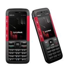 (Certified REFURBISHED) Nokia 5310 Xpress Music RED Black