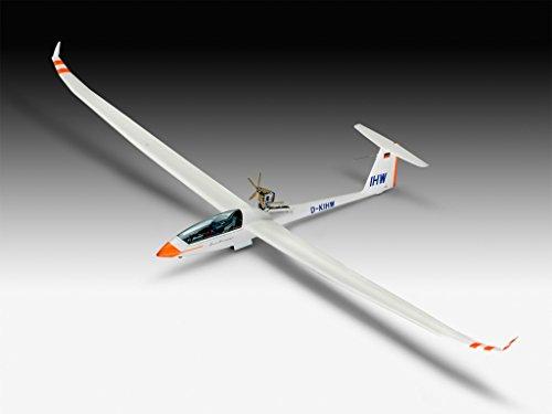Revell Revell03961 Segelflugzeug Duo Diskus und Motor Modell Kit - 10