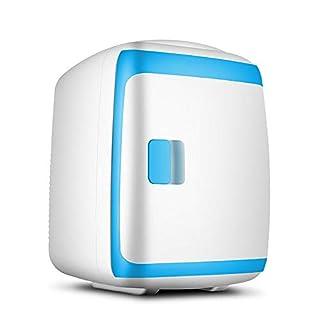 WYFDM Mini Tragbarer Elektrokühlschrank 13 Liter Mit Kabel Für Zu Hause Und Kabel Mit Zigarettenanzünder Fürs Auto,Blue