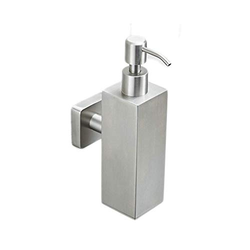 CNDY 304 Edelstahl Seifenspender Händedesinfektionsmittel Flaschenpresse Wand Hotel Duschgel Schaum Flasche 200 ml (Farbe: A) -