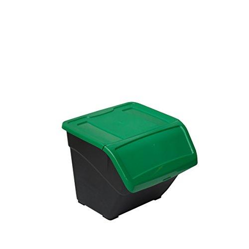 Papelera Premium Con Pedal 3 Residuos 45L 3X15L Transforma Talla 34,5 X 60,5 X 48,5 Cm
