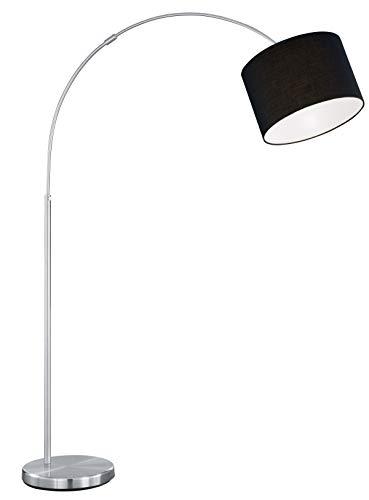 Trio Serie 4611 - Lámpara de pie, exPlafón, E27, 60 W, color negro