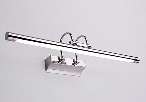 Dreifach-bad-wandleuchte (HHORD Eisen führte Spiegel Frontlampe europäischen Moderne Antifog-Spiegelleuchte Wandleuchte Bad Badezimmerschrank Spiegel Make-up-Lampen)