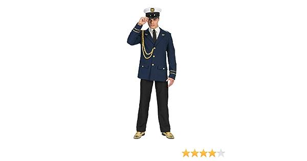 Herren Kostüm Matrose Hemd Kragen Karneval Fasching FM