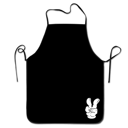 Apron Chef Kitchen Cooking Apron Bib Victory New Style Hip Hop FRICSTAR