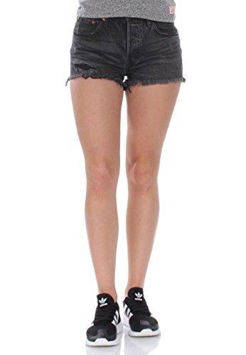 levis-jeansshorts-women-501-short-32317-0049-slashed-black-hosengrosse29