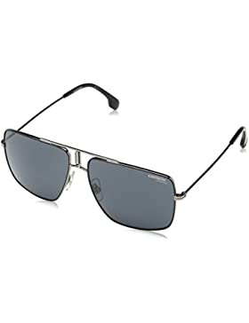 Carrera 1006/S IR, Gafas de Sol Unisex-Adulto, Rutbk Mttblk, 60