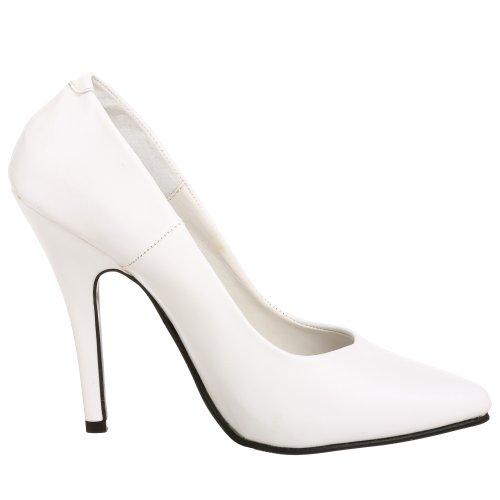 Pleaser Seduce-420, Escarpins femme Blanc(Blanc)