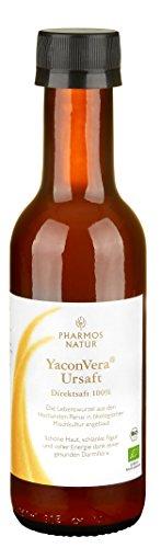 200 Ml Natur - (Pharmos Natur - YaconVera® BioUrsaft - 100% Direktsaft - 200 ml)