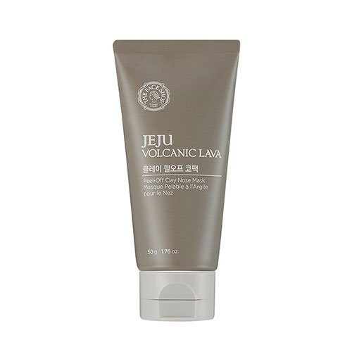 [The Face Shop] Jeju Volcanic Lava Peel-Off Clay Nose Mask