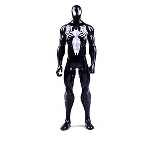 FHMHJH Schwarzes Spider-Man-Modell, Anime-Zeichentrickfilm-Figur Spider-Man-Legenden-Serie 6-Zoll-Marvel Infinite War Titan Hero-Serie Spider-Man (Spiderman Infiniti)