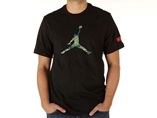 Nike Herren JSW SS ASW Tee 2 T-Shirt, Black/Infrared 23, M -