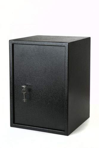 S+S Safe Tresor (500) 500mm Safe Tresor Wandtresor Wandsafe Möbeltresor Dokumententresor Geldschrank; ohne Elektronikschloss