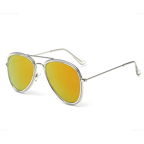 O-C women and men's Classical&Fashion stylish UV400 metal colorful Sunglasses 55mm Width lens