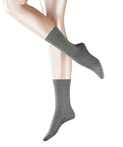 FALKE Damen Socken 47675 Family SO , Gr. 39-42, Grau (greymix) Fb/col. 3399