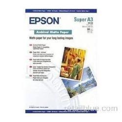 Epson C13S041340 - Archival Matte Paper, DIN A3+, 192 g/m, 50 Blatt Druckerpapier (C13S04...