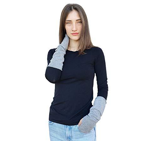 Armwärmer Damen Kaschmir Muffs Handschuhe