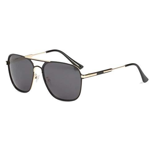 Polarisierte Sonnenbrille Herren HD Double Beam Box Sonnenbrille Europäische Und Amerikanische Fahrer Sonnenbrille (2er Pack)