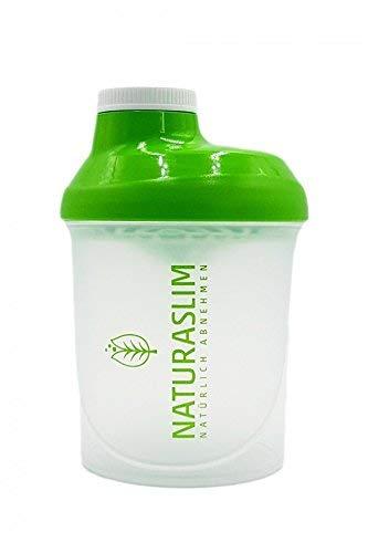 Naturaslim Eiweiß Shaker (300ml) klein, BPA-frei, einfache Reinigung grün