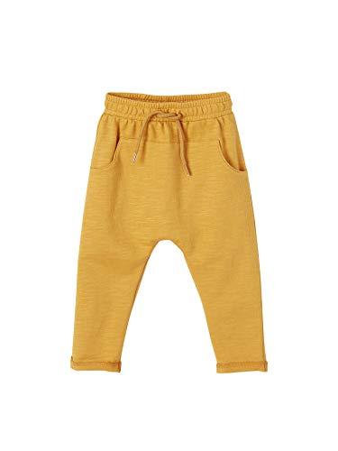 Vertbaudet Sweathose für Baby Jungen Sonnengelb 92