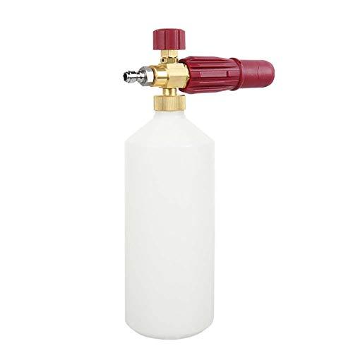 Wasserpistole, Schaum Gießkanne Schneeflocke Schaum Topf Hochdruckreiniger Mit Schaumpistole Gießkanne Rot ()