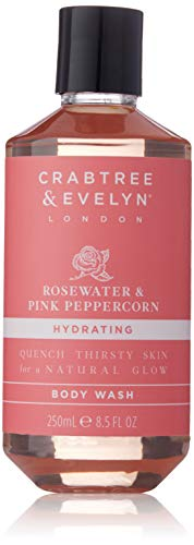 Crabtree & Evelyn Rosewater & Pink Peppercorn Body Wash Duschgel 250ml -