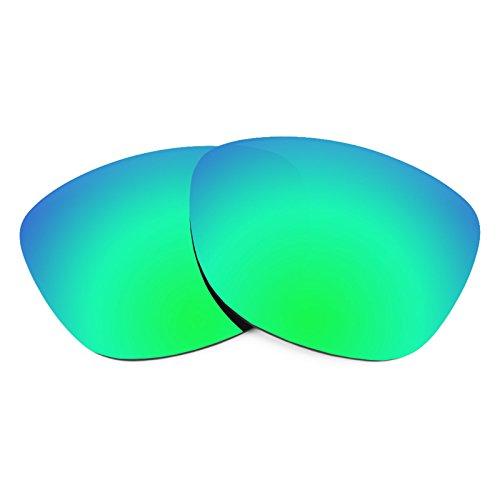 Revant Ersatzlinsen für Oakley Frogskins Emerald Grün MirrorShield®