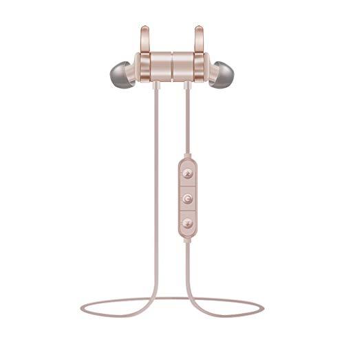 S3 Magnetisch Kabellos Ohrhörer Bluetooth Kopfhörer Sport IPX 6 Schweißfest Magnetische Anziehung Bluetooth-Headset im Ohr läuft mit kabellosen Ohrhörern (Läuft Sport-ohrhörer)
