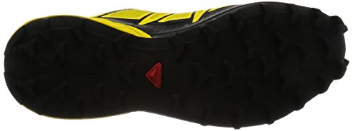 Salomon Herren Speedcross 4 Traillaufschuhe Gelb (Empire Yellow/black/black)