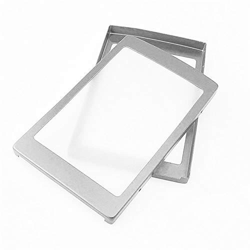 Dicomi LED Solar Portable Dual USB Power Bank 5x18650 Externes Ladegerät DIY Box Silber -