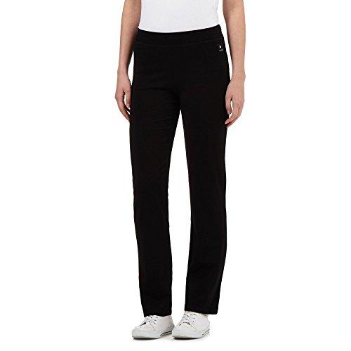Maine New England Womens Black Slim Leg Jogging Bottoms
