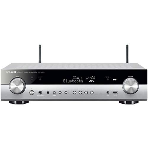 Yamaha RX-S602 MC AV-Receiver (Slimline Netzwerk-Receiver mit kraftvollem 5.1 Surround-Sound - für packendes Home Entertainment - Music Cast und Alexa kompatibel) titan