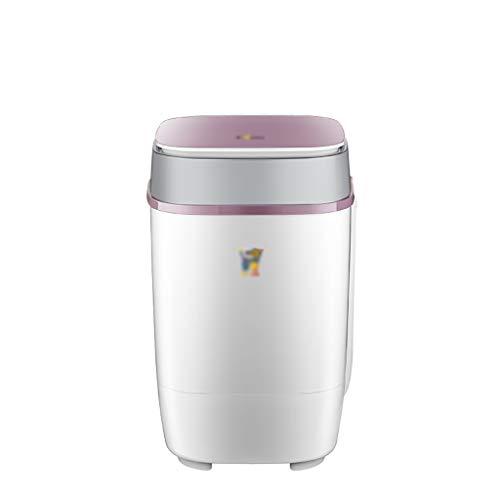 Lavadoras Máquina portátil compacto Niño Bebé individual cuba de lavado, generador de ozono incorporado...