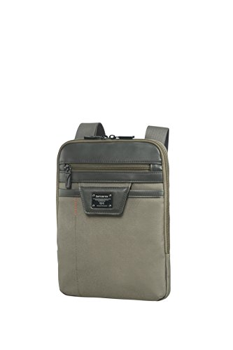"""SAMSONITE Zenith - Tablet Crossover L 9.7"""" Mochila tipo casual, 28 cm, 3.6 liters, Gris (Taupe)"""