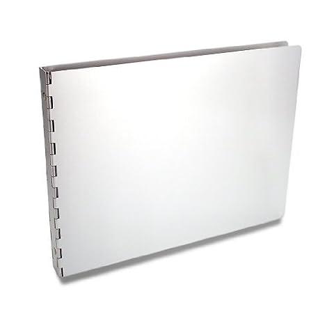 Pina Zangaro Machina Aluminum 3-Ring Binder for 8.5x11 Inches Landscape Sheets, 1/2-Inch capacity by Pina (0.5 3 Raccoglitore Ad Anelli)