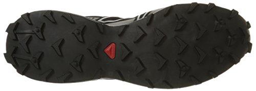 Salomon Speedcross 3, Chaussures de Running Compétition Homme Noir